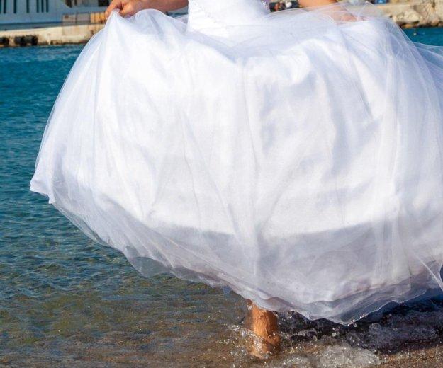 Свадебное платье. Фото 1. Луховицы.