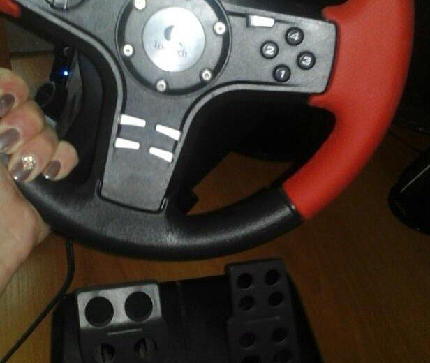 Игровой руль. Фото 4. Лермонтов.