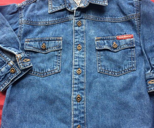 Рубашка джинсовая. Фото 4. Санкт-Петербург.