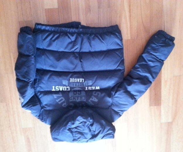 Куртка benetton (140рост). Фото 2. Москва.