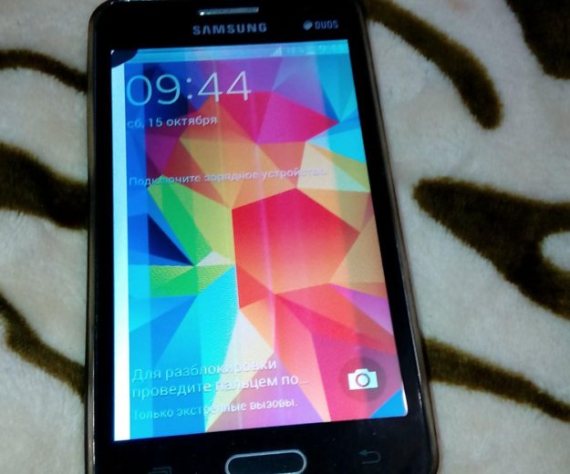 Телефон samsung galaxy core 2 + чехол. Фото 2.