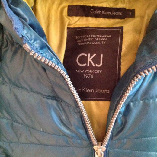 Calvin  klein куртка новая на пуху 46-48 р. Фото 4. Москва.