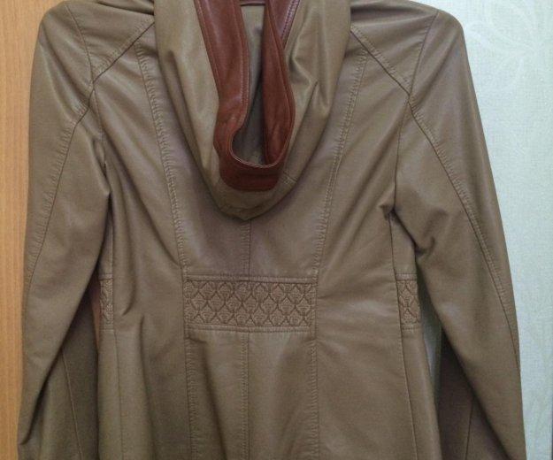 Кожаная женская куртка. Фото 3. Астрахань.