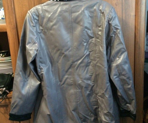 Кожанная куртка. Фото 1. Канск.
