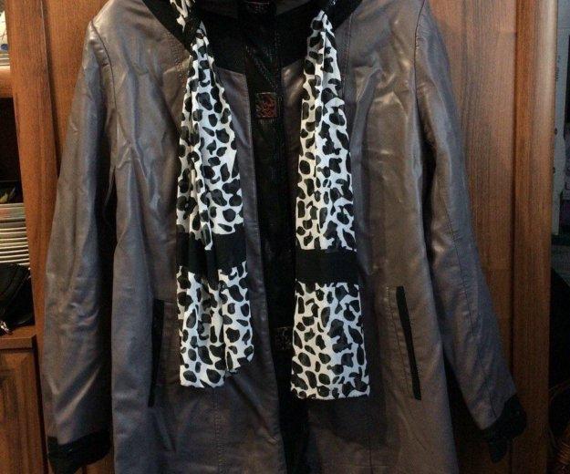 Кожанная куртка. Фото 3. Канск.