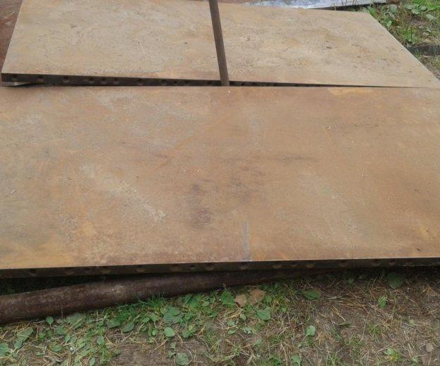 Плиты стальные 1000/2000/40. Фото 3.