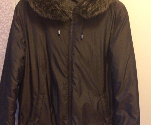 Зимняя куртка 48 размер. Фото 2. Пермь.