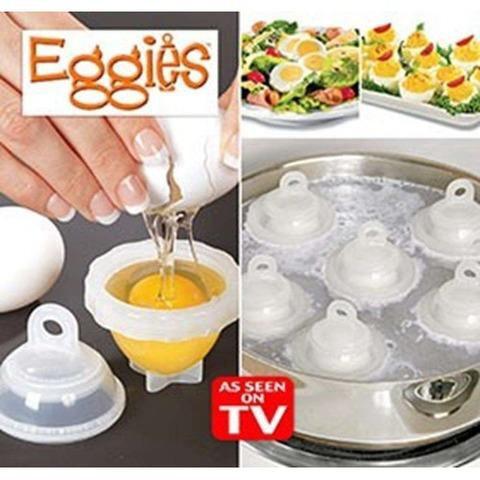 Формочки для варки яиц , яйца-пашот.  6 штук. Фото 2. Королев.