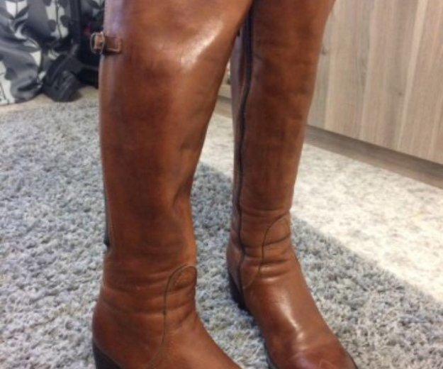 Сапоги зимние р37 карло пазолини натуральная кожа. Фото 1.