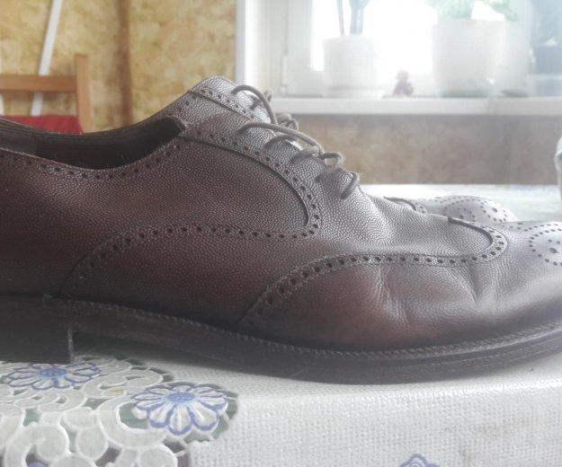 Мужские туфли натуральная кожа. Фото 2. Москва.