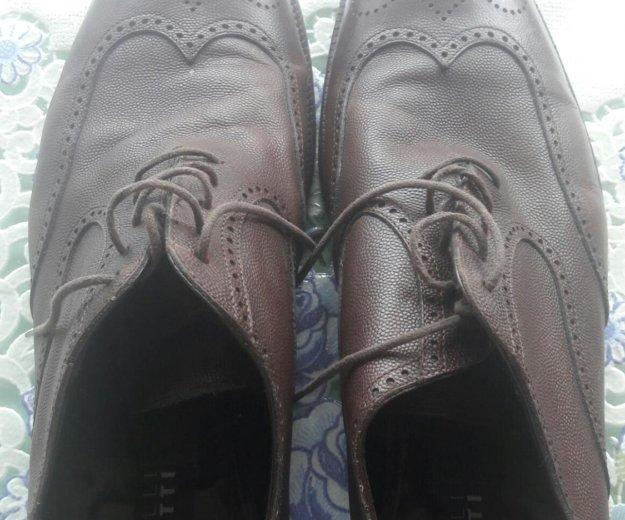 Мужские туфли натуральная кожа. Фото 1. Москва.