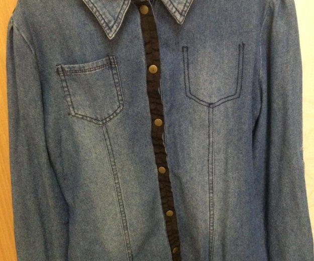 Рубашка джинсовая. Фото 1. Астрахань.