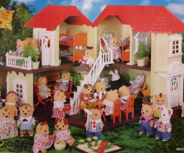 Игрушечный домик для кошечек happy family. Фото 1. Москва.