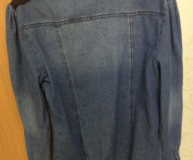 Рубашка джинсовая. Фото 2. Астрахань.