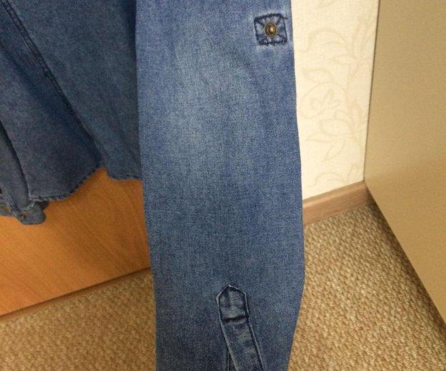 Рубашка джинсовая. Фото 3. Астрахань.