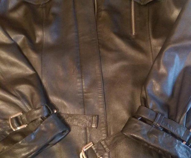 Куртка кожаная. Фото 1. Реутов.