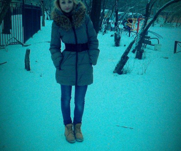 Крутое зимнее пальто. Фото 1. Санкт-Петербург.