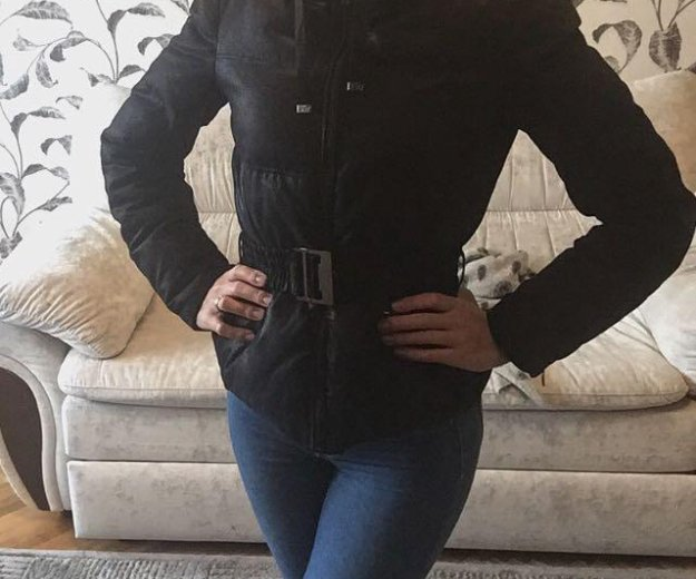 Zara зимняя куртка. Фото 2. Москва.