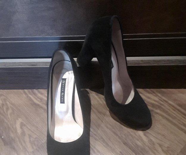 Туфли замшевые 40. Фото 1. Москва.