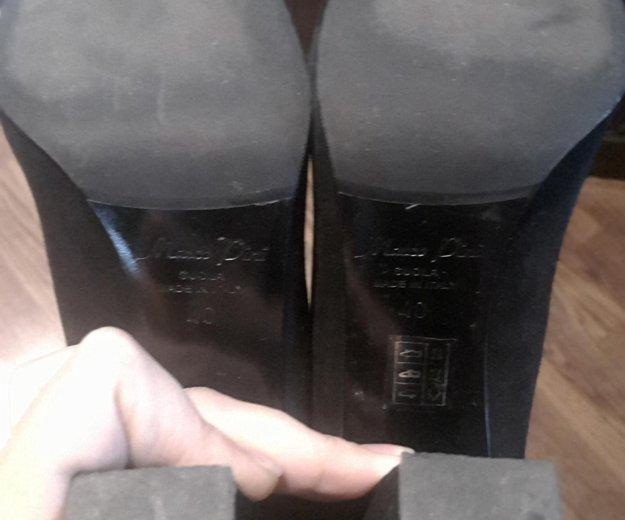 Туфли замшевые 40. Фото 4. Москва.