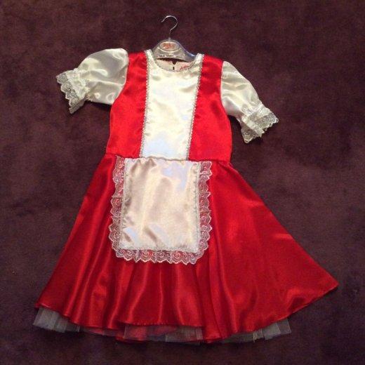Платье красная шапочка ил русская девушка напрокат. Фото 1. Москва.