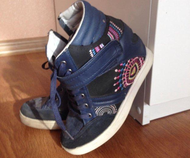 Ботиночки на девочку. Фото 1.