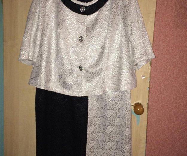 Вечернее платье с пиджаком. Фото 2. Химки.