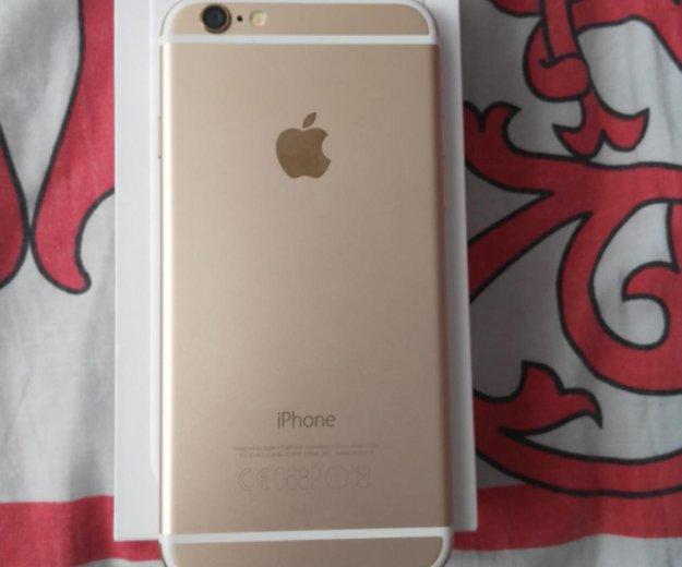 Iphone 6 на 16gb золотой. Фото 2. Москва.