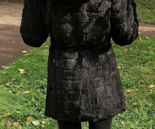 Шуба из меха кролика. Фото 4. Москва.