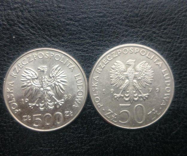 Юбилейные монеты польши. Фото 2. Санкт-Петербург.