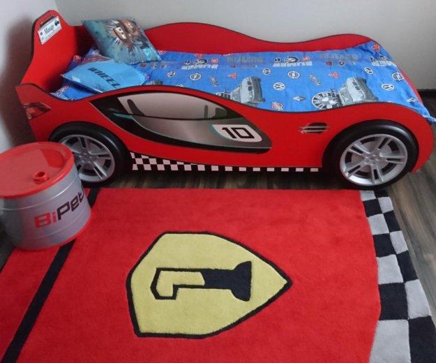 Детская кровать машинка в детскую гоночная машина. Фото 1. Звенигород.