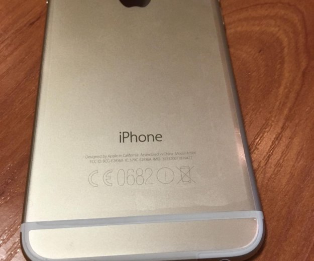 Iphone 6 64gb gold. Фото 2.