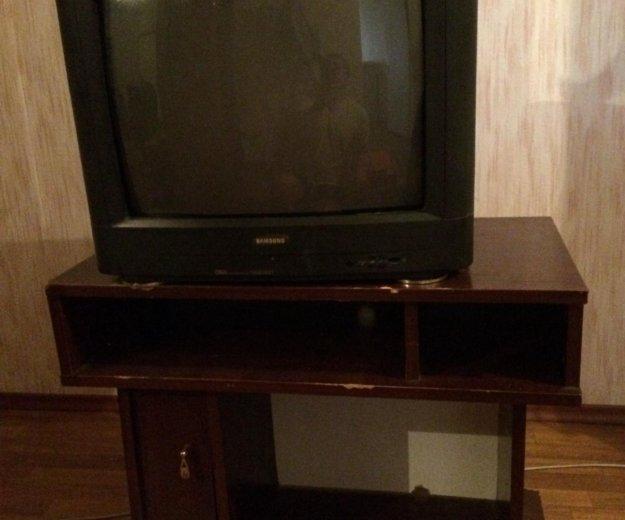 Телевизор + тумба. Фото 2. Биокомбината.