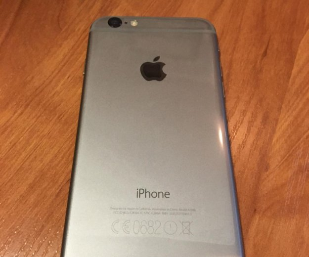 Iphone 6 16gb space gray. Фото 2.