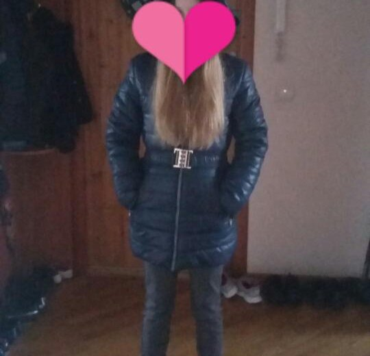 Пальто зимнее для девочки. Фото 1. Краснодар.