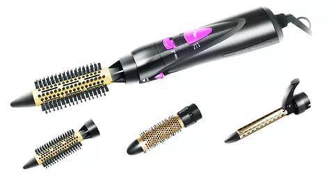 Стайлер для волос редмонд с насадками. Фото 1.