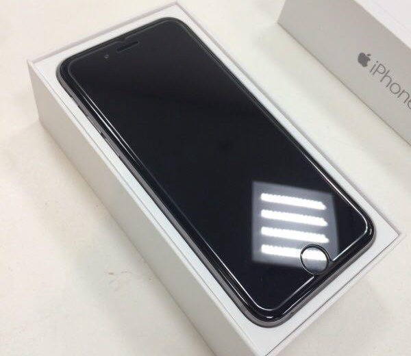 Iphone 6 64gb space gray. Фото 1.