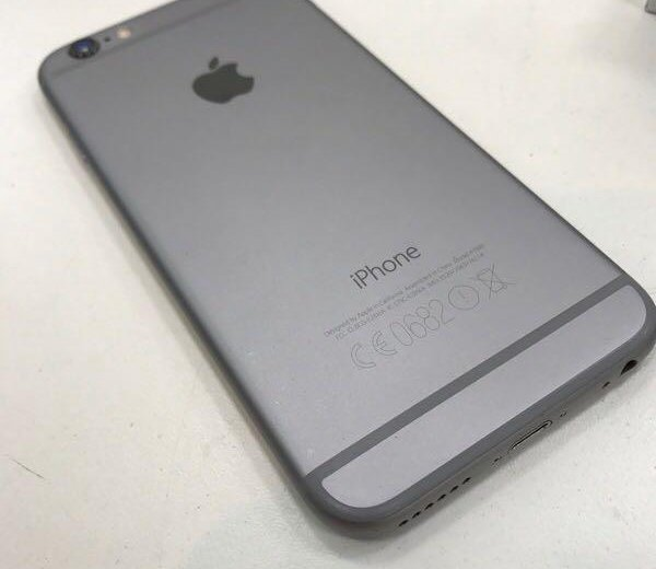 Iphone 6 64gb space gray. Фото 3.
