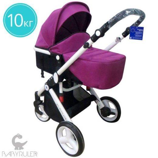 Детская коляска babyruler st-166 freekids. Фото 4.