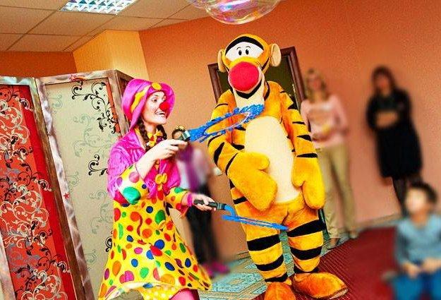 Аниматоры на празднике для детей. Фото 1. Жуковский.