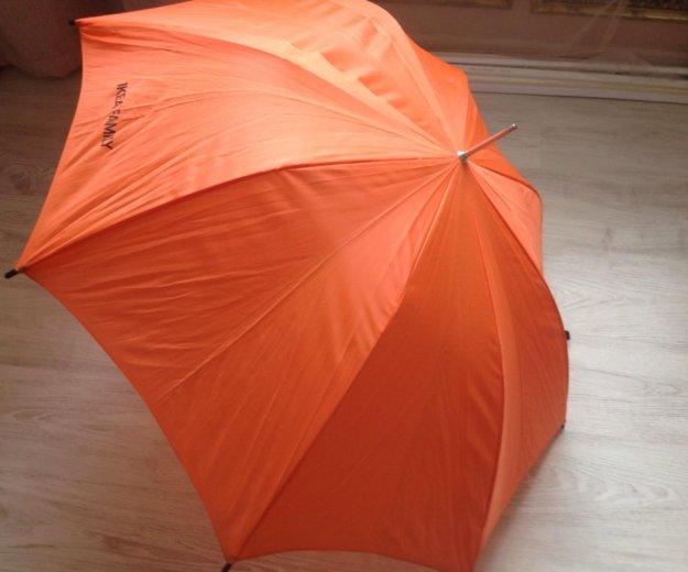 Зонтик трость икея оранжевый. Фото 1. Санкт-Петербург.