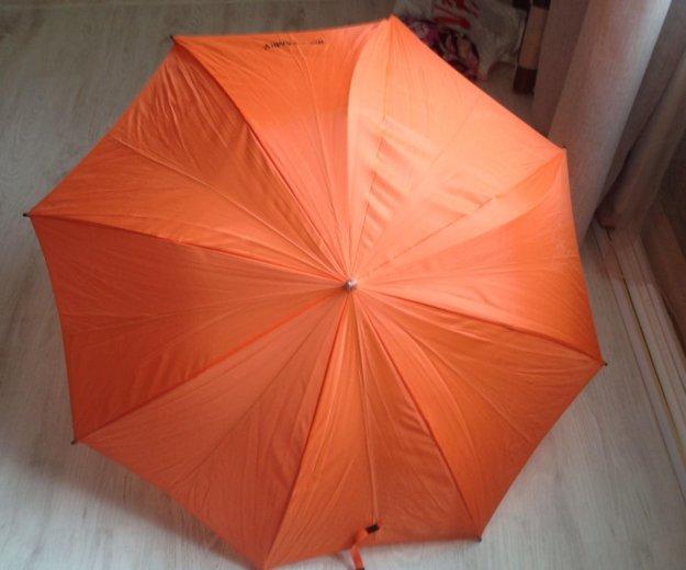 Зонтик трость икея оранжевый. Фото 2. Санкт-Петербург.