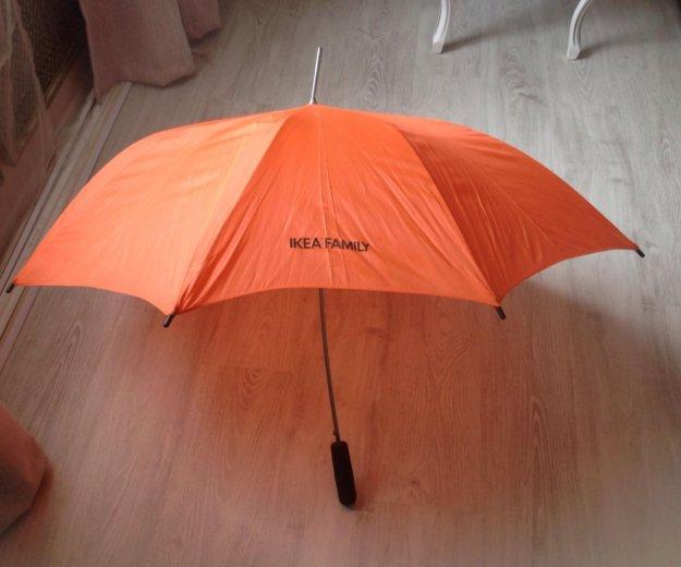 Зонтик трость икея оранжевый. Фото 3. Санкт-Петербург.