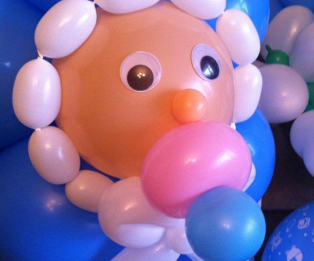 Оформление для деток шариками. Фото 1. Гаврилов Посад.
