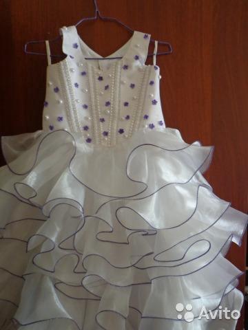 Нарядное платье для девочки. Фото 1. Арамиль.