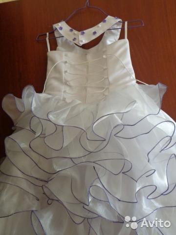 Нарядное платье для девочки. Фото 2. Арамиль.