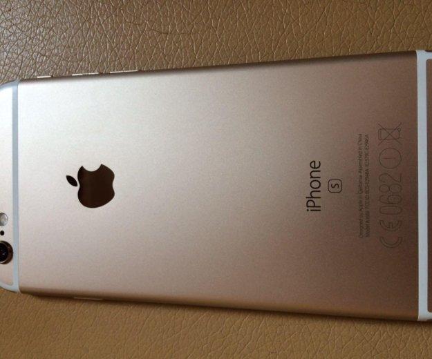 Iphone 6s 64 gb gold. Фото 3.