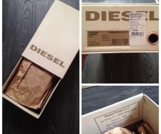 Diesel ботинки лоферы оригинал. Фото 4. Москва.
