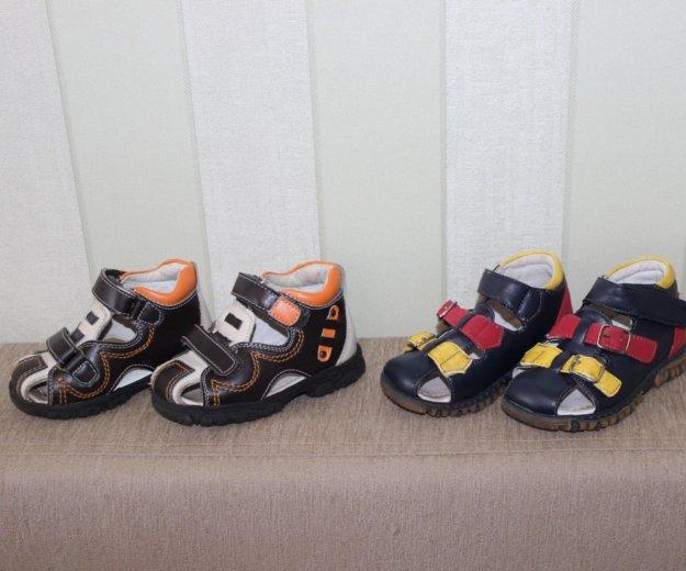 Обувь б/у мальчик. Фото 1. Прокопьевск.