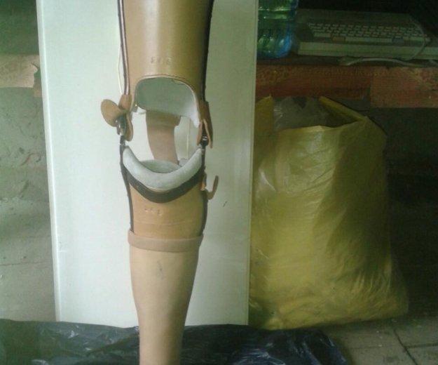 Протез левой ноги (до колена). Фото 1. Сочи.